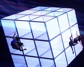 Dance on Wall – 3D Mapping Dance Show