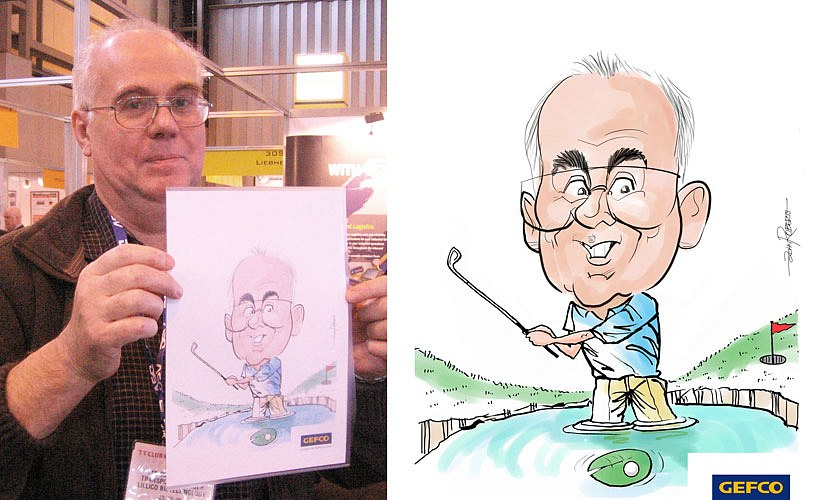 John – Caricaturist and Digital Caricaturist