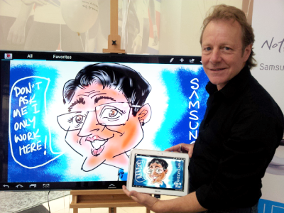Rick – Caricaturist and Digital Caricaturist