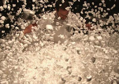 Snow Sculpture Show – Event Art Installation