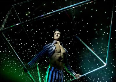 Gravity – Laser Spinning Cube & LED Dance Show | UK
