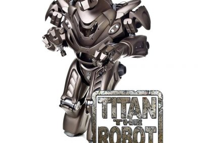 Titan the Robot – Custom Robot Character | UK