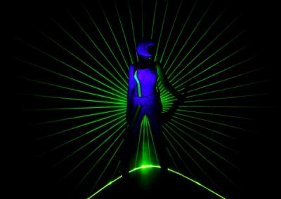 The Laser Violinist – Electric Violin & Laser Show | UK