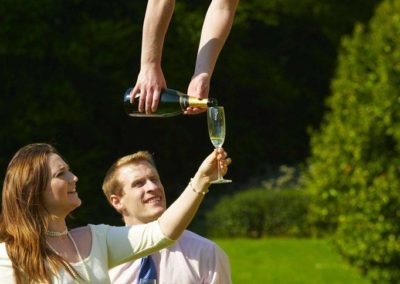 Aerial Champagne Waitresses | Bristol| South West| UK