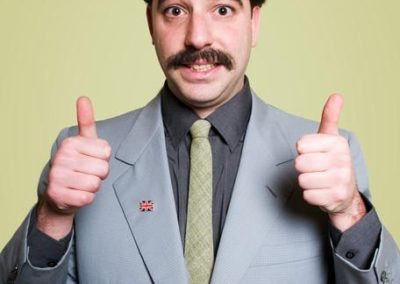Ali G,Borat,Bruno & The Dictator – Comedy Performer | UK
