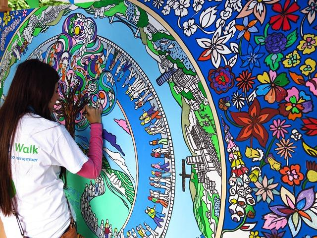 Bespoke Colouring-in Art- Giant Colouring Wall | UK & International