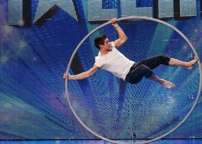 Billy George Cyr Wheel – Britain's Got Talent 2012 | UK