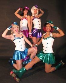 Candy Roller Babes – Roller Dancers | London| UK