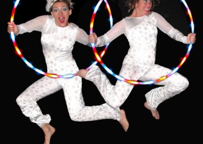 Christmas Glow Show – Hula Hoop Show | East Sussex| South East| UK