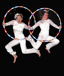 Christmas Glow Show – Hoola Hoop Show