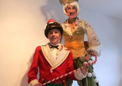 Curious Christmas Characters – Walkabout Characters | Wiltshire| South West| UK