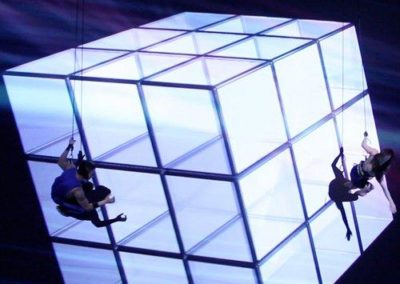 Dance on Wall – 3D Mapping Dance Show | International