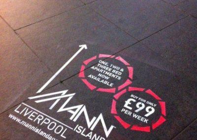 Eko Bio Paint – Pavement Advertising | Liverpool| North West| UK