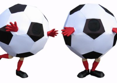 Footballs – Walkabout Characters | East Sussex| South East| UK