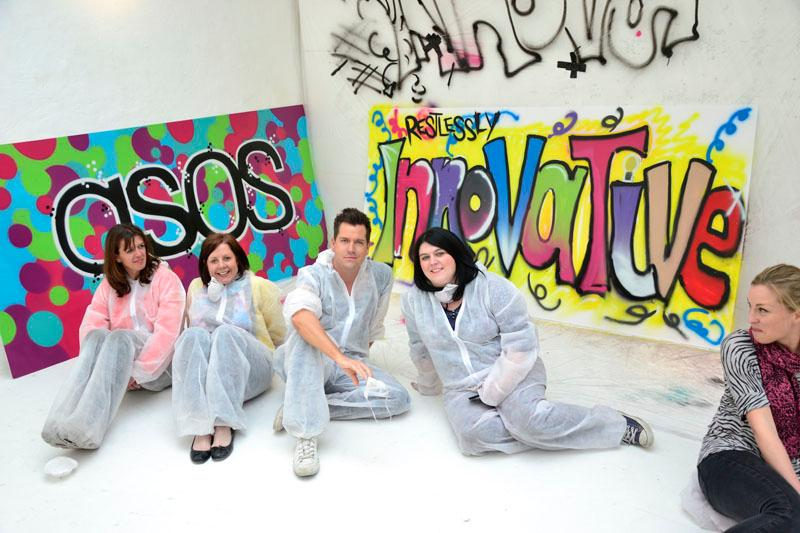 Graffiti Workshops – Team Building | Surrey| South East| UK