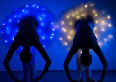 LED Ballerinas – Modern Ballet Show | London | UK