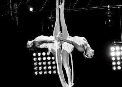 Lilli & Collette – Aerial Silks & Hoop Duo | London | UK