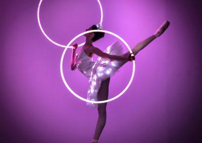 LED Ballet & Hula Hoop Show – Dance Show | UK