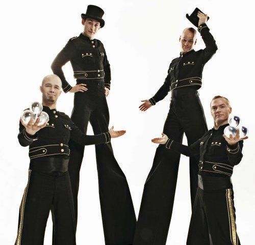 Moon: The Doormen – Fire Performers   London  UK