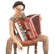 Ms Chalet – Accordion Player Character | UK