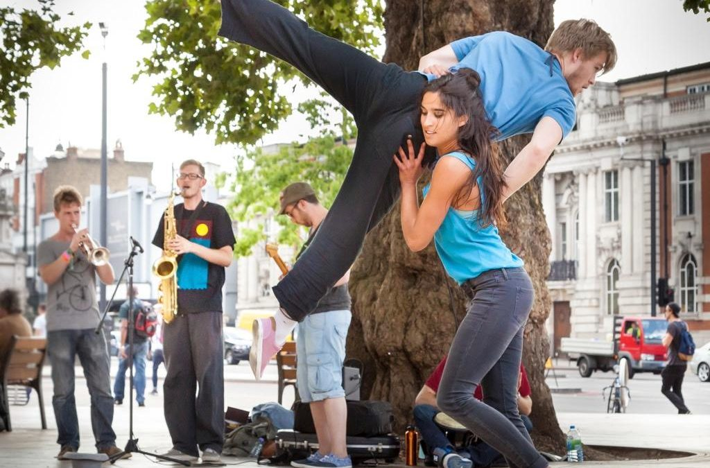 Off The Ground -Acrobatic & Flash Mob Dancers | London | UK