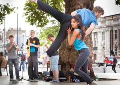 Off The Ground -Acrobatic & Flash Mob Dancers | London | UK