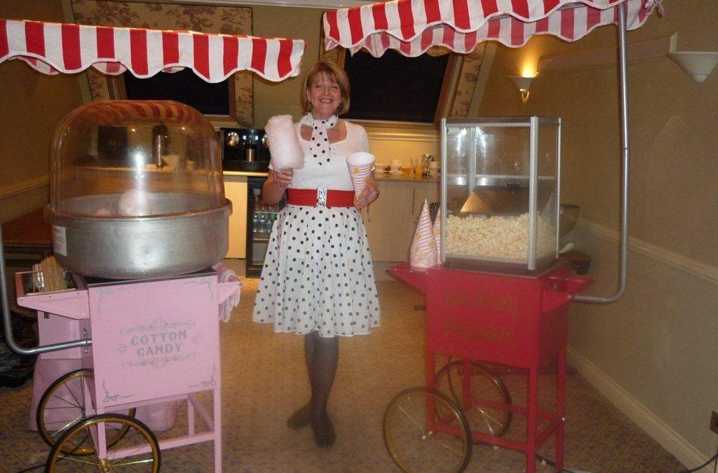 Popcorn & Candy Floss Stall | London| UK