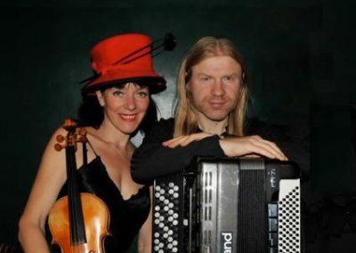 Russian: Mazaika – Violin & Accordion Duo   London  UK