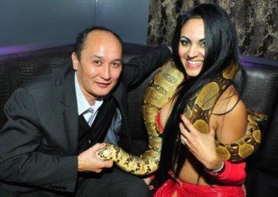 Shahara – Snake & Belly Dancer | UK