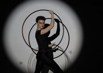 Silvia – Digital Hula Hoop Performer | London | UK