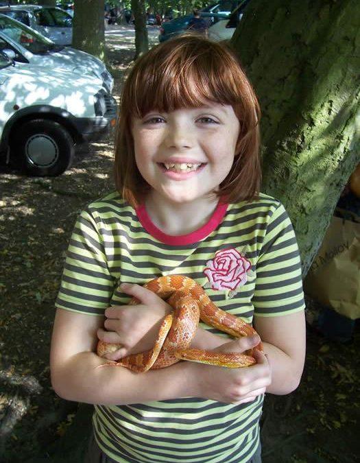 Snakey Sue – Snake Handler   Essex  Eastern  UK