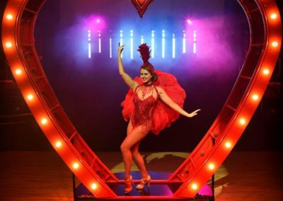 The Aerial Prop Heart – Cabaret Show | UK