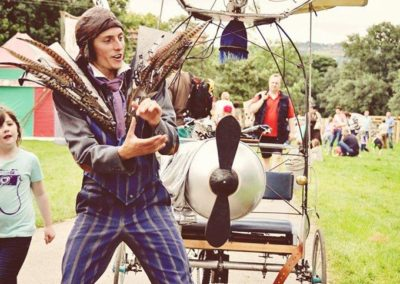 The Flycycle & Submercycle – Walkabout Act | Sheffield| Yorkshire & The Humber| UK