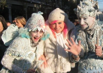 The Ice Fairies – Walkabout Characters | London| UK