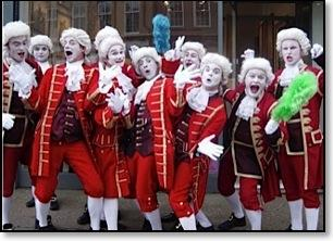 The Royal Footmen – Walkabout Act | Essex | South East | UK
