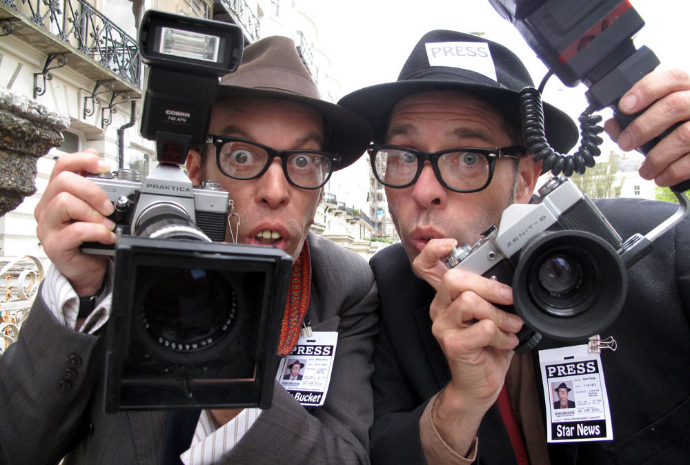 The Snap Happy Paparazzi – Comedy Act   East Sussex