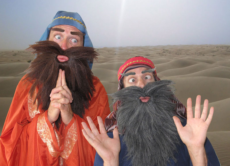 The Two Wise Men – Comedy Characters   Brighton  South East  UK