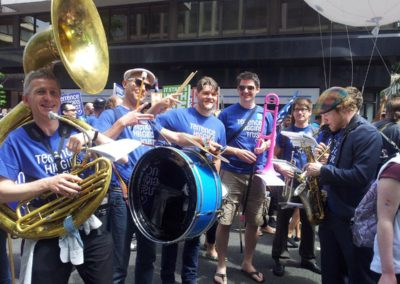 The Volcanoes – Brass Band | London| UK