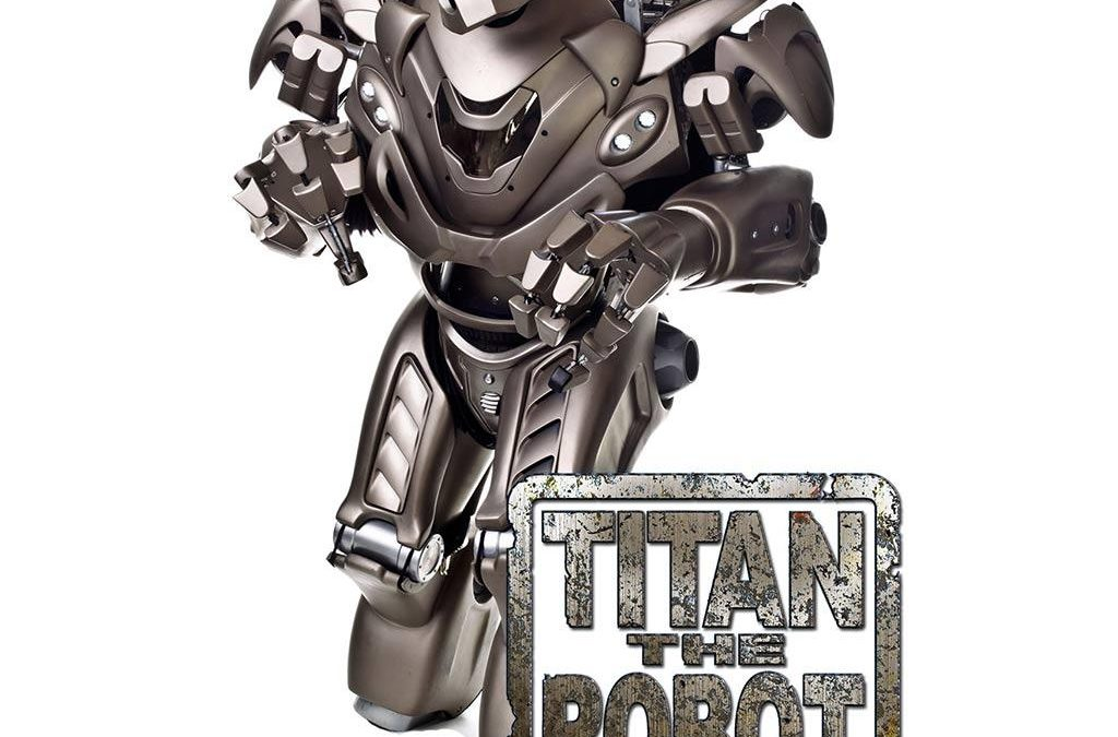 Titan the Robot | Cornwall| South West| UK