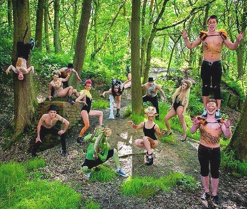 Tribal & Jungle Circus – Circus Shows & Walkabout Characters   North West   UK