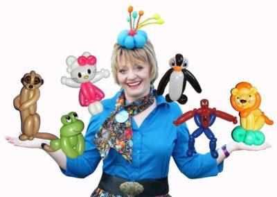 Twisty Tina – Balloon Modeller & Balloon Caricaturist | Oxfordshire| South East| UK