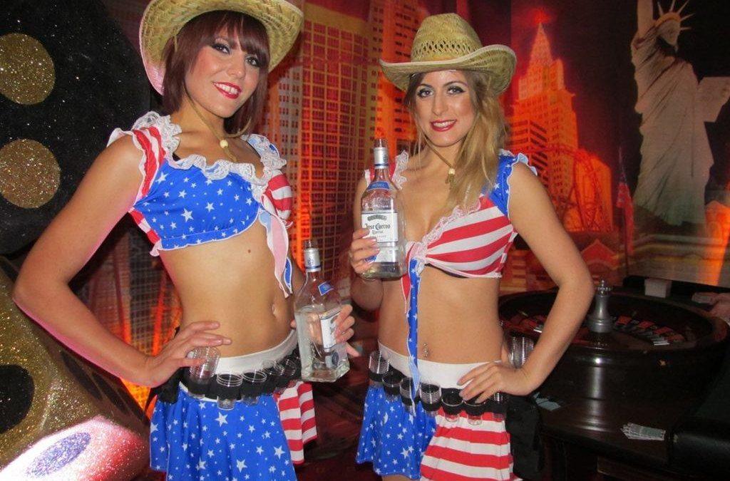 Vegas Slammers – Drink Entertainment| Staffordshire| West Midlands| UK