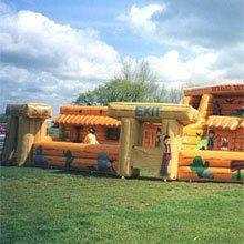 Wild West Run – Bouncy Castles & Soft Play |London| UK