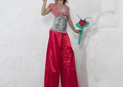Miss Lala – Stilt Walking Character & Balloon Modeller | London| UK