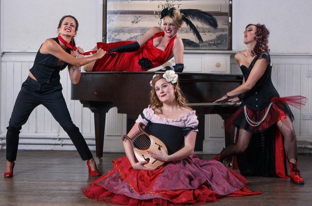 The Ruby Dolls – Cabaret Show   London  UK