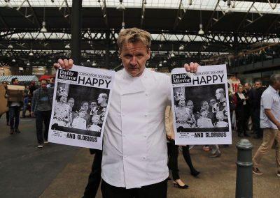 Gordon Ramsay lookalike Historic newspapers