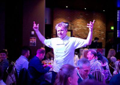 Gordon Ramsay lookalike Martin Jordan Public speaking