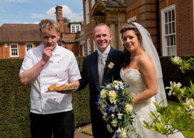 Gordon Ramsay lookalike weddings