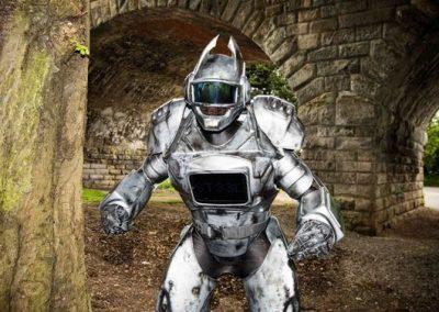Steel Robot – Custom Robot Character | UK