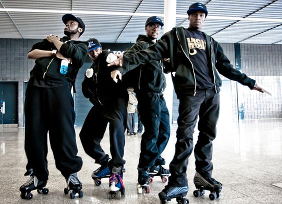 Booking for High Rollaz skating troupe